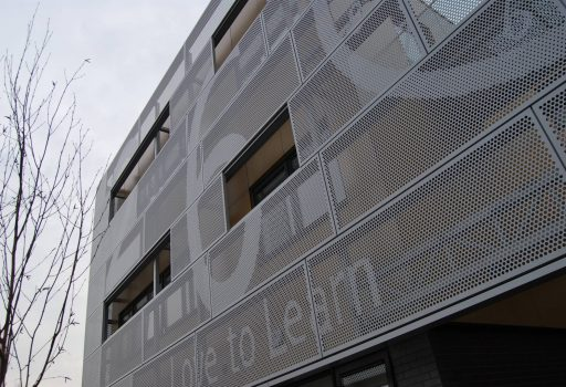Perforated Metal Sheets for facades