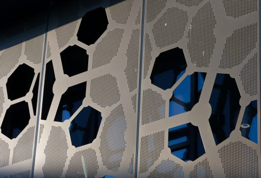 Perforated Screen Solar Shading